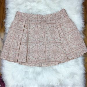 NWOT. frenchi pleated skirt. Size XL